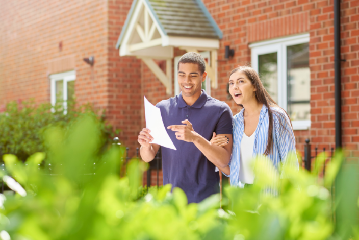 First home buyers outside home